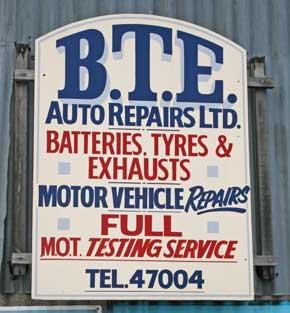 BTE Auto Repairs, Evesham garage